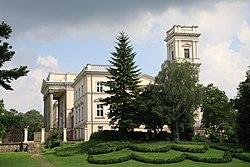 Pałac wybudowany dla Józefa Mielżyńskiego.JPG