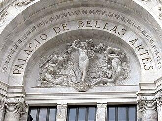 Palacio de Bellas Artes - La armonía (Harmony), 1910, Leonardo Bistolfi