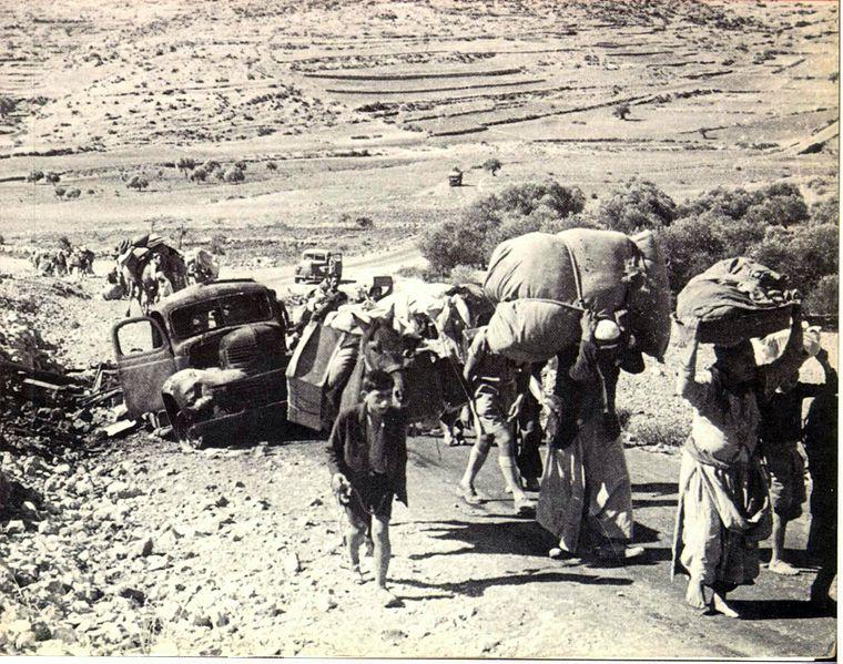 File:Palestinian refugees 1948.jpg