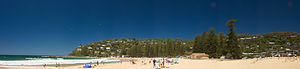 Palm Beach, New South Wales - Image: Palm Beach Panorama