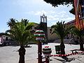 Palmeras, Convento de San Francisco, Garachico, Tenerife, España, 2015.JPG