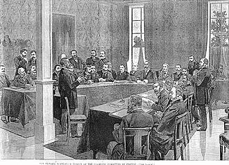 Panama scandals - 1891 Panama Canal Company Liquidation Court Trial in Paris, France