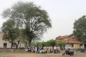 Panchayati raj (India) - Open Panchayat near Narsingarh, Madhya Pradesh, India