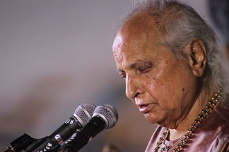 Jasraj - Jasraj at the Indira Gandhi Rashtriya Manav Sangrahalaya Poonam-35, Bhopal, in 2015
