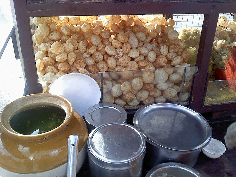 File:Panipuri at Nagpur.jpg