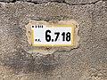 Panonceau PK 6,718 Route D51b Route Cuétant St Jean Veyle 2.jpg