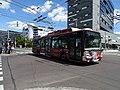 Pardubice, Masarykovo náměstí, trolejbus 318 Cyril a Metoděj na lince 1.jpg