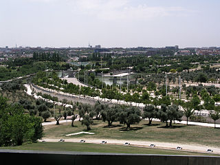 Parque Juan Carlos I View from My sky hole-Madrid.jpg