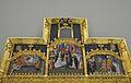 Part superior del retaule de Sant Martí amb Santa Úrsula i Sant Antoni Abat, Museu de Belles Arts de València.JPG