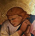 """Particolare di un apostolo della composizione """"Morte della Vergine"""".jpg"""