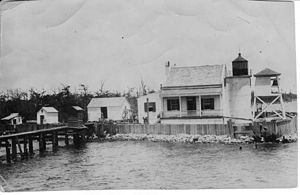 Pass Manchac Light - Image: Pass Manchac Light LA 1918