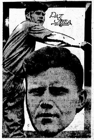 Red Shea - Image: Pat shea newspaper