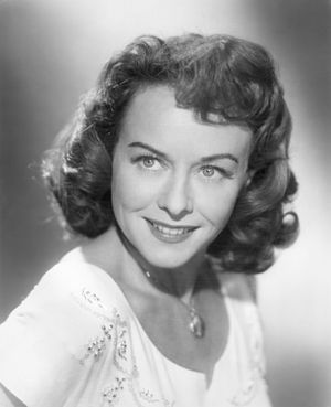 Paulette Goddard - Paulette Goddard in a publicity shot for A Stranger Came Home (1954)