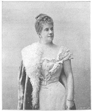 Pauline de Ahna - Pauline de Ahna Strauss, c. 1900