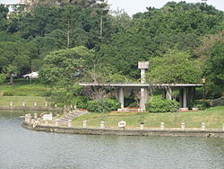 Pavilion beside the Bamboo Lake in NCTU.jpg