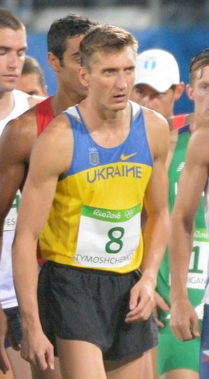 Pavlo Tymoshchenko - Tymoshchenko at the 2016 Olympics