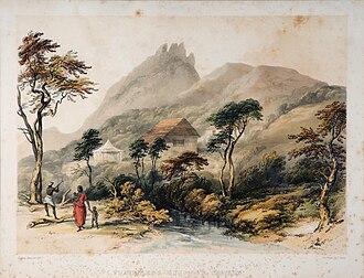 Anginda peak - Sispara pass. Anginda is background