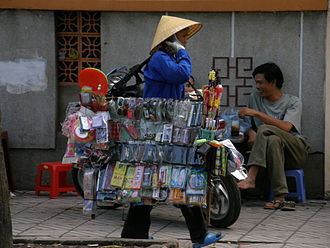 Peddler - Peddler in Ho Chi Minh City, Vietnam