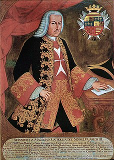Pedro Messía de la Cerda, 2nd Marquis of Vega de Armijo Viceroy of New Granada