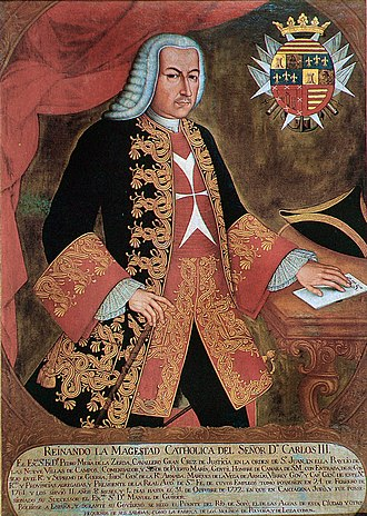 La Guajira Department - Pedro Messía de la Cerda, Viceroy of the Viceroyalty of New Granada.