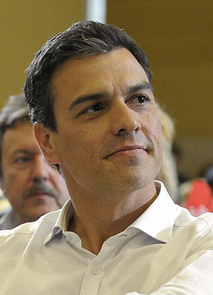 Leader of the Opposition (Spain) - Image: Pedro Sánchez 2015i (cropped)