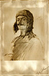 Pencil drawing of William Thaw by Henri Farré.JPG