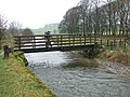 Pennine Way Footbridge over the River Aire - geograph.org.uk - 621080.jpg