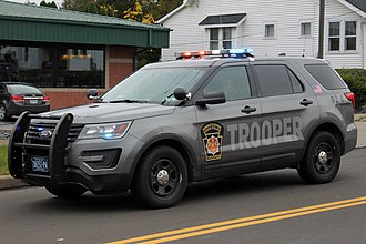 Pennsylvania State Police - Image: Pennsylvania State Police Ford Interceptor Utility