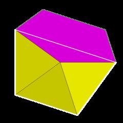 Pentagonal antiprism vertfig
