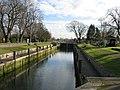 Penton Hook Lock, near Laleham, Middlesex - geograph.org.uk - 88672.jpg