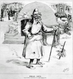 vanhanajan joulupukki