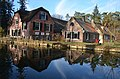 Perfect reflections at these nice farms in the Open Air Museum Arnhem - panoramio.jpg