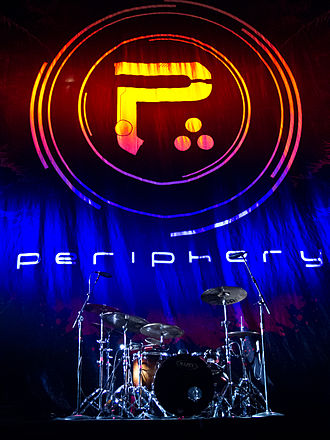 Periphery (band) - Setup before a 2012 concert