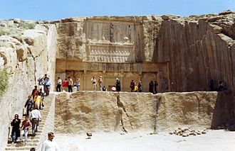 Artaxerxes III - Tomb of Artaxerxes III at Persepolis