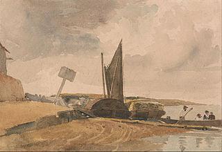Low Tide, boat landing