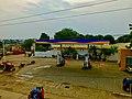 Petrol Bunk near Dhyana Buddha Statue, Amaravathi.jpg