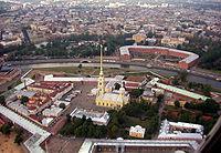 Petropavlovskaia Krepost aerial.jpg