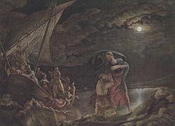 Philipp Otto Runge: Peter on the sea