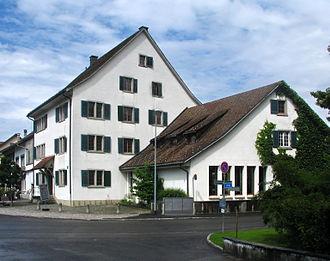 Pfäffikon, Zürich - Pfarrhaus (rectory) and community hall