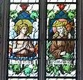 Pfarrkirche Weitnau Nothelferfenster Vitus Margareta.jpg