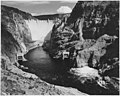 Photograph of the Boulder Dam from Across the Colorado River (4309792206).jpg