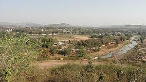 Phulbani - Phulbani from View Point