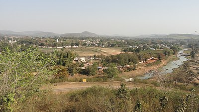 Phulbani town from ViwPoint.JPG