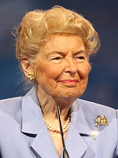 Phyllis Schlafly American activist