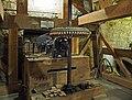 Pickwick Mill interior 05–line shaft.jpg