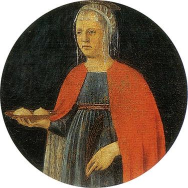 Piero, sant'agata