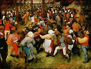 The Wedding Dance - Image: Pieter Bruegel de Oude De bruiloft dans (Detroit)