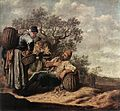 Pieter de Molyn - Landscape with Conversing Peasants - WGA16121.jpg