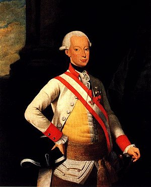 The Cantos - Grand Duke Pietro Leopoldo, who sought to end state debt and protected agricultural implements from sequestration for personal debt. (Portrait by Stefano Gaetano Neri.)