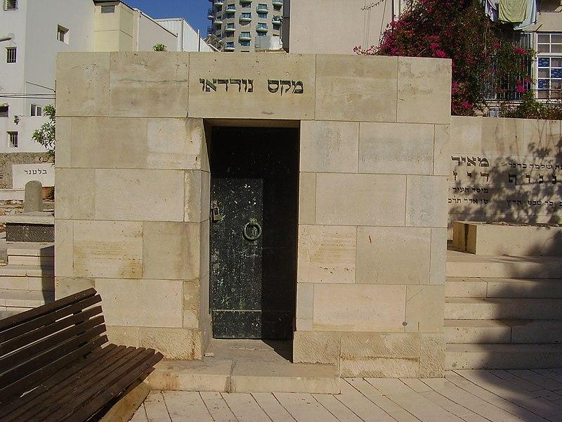 קבר מקס נורדאו בתל אביב